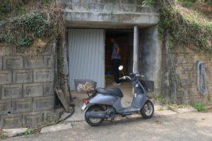 生姜の貯蔵庫
